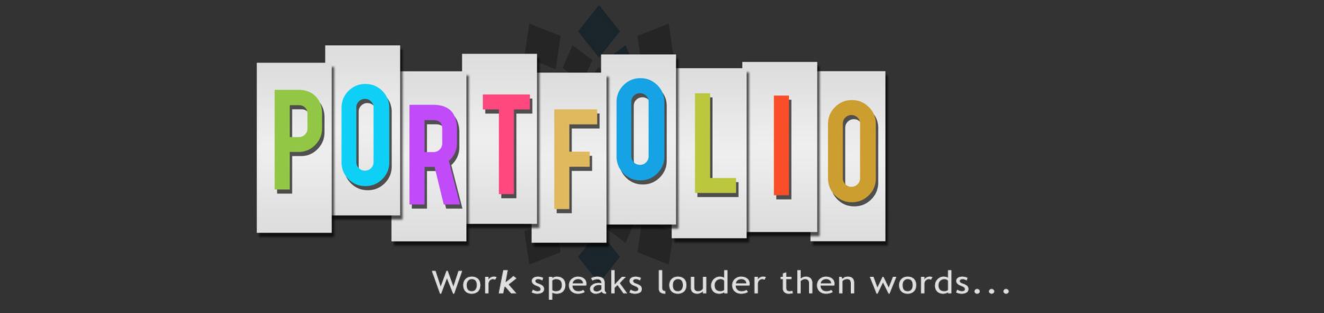 porfolio banner wider