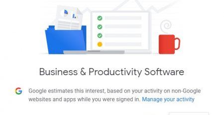 google Business Productivity Software